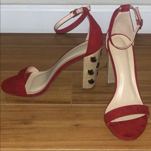 New Red sandals.